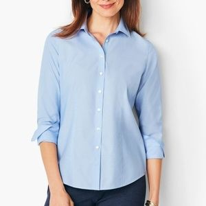TALBOTS PERFECT SHIRT - END-ON-END